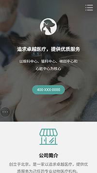 宠物医院欧宝体育app下载地址建设模板