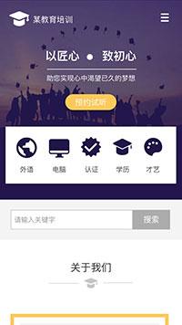 教育培训欧宝体育app下载地址建设模板